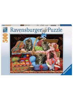 Puzzle Diversión sobre algo suave 500 piezas