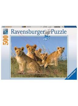 Puzzle 500 cachorros de león.