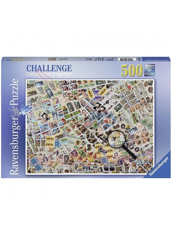 Puzzle Francobolli 500 piezas