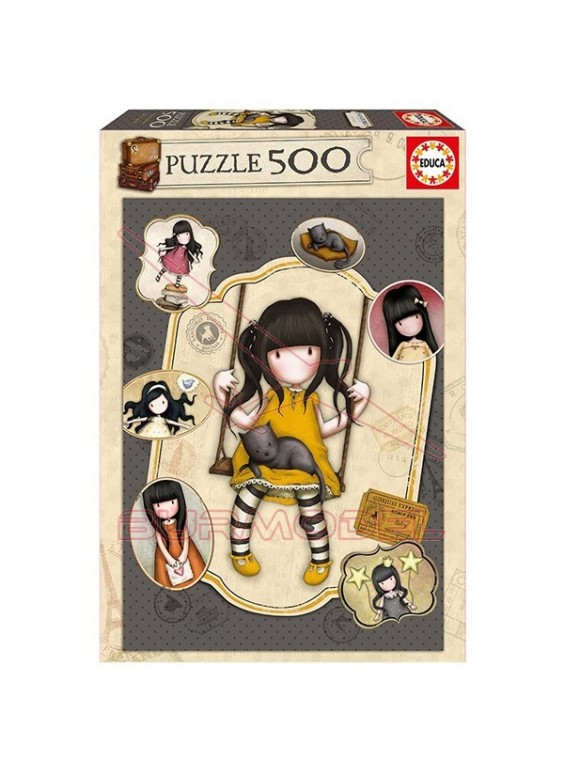 Puzzle Ruby Gorjuss 500 piezas.
