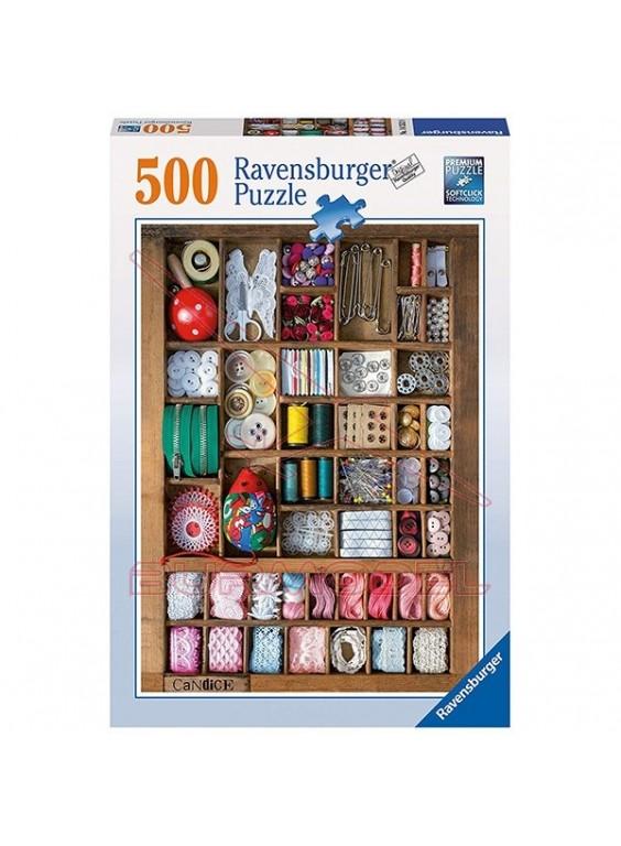 Puzzle Costura 500 piezas.