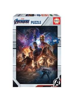 Puzzle 500 piezas Avengers. Los Vengadores.