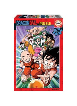 Puzzle 200 piezas Dragon Ball.