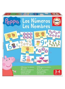 Puzzle infantil Peppa Pig.