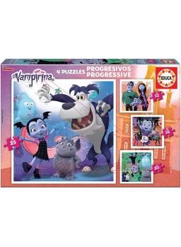 Puzzle progresivo 12-16-20-25 Vampirina.
