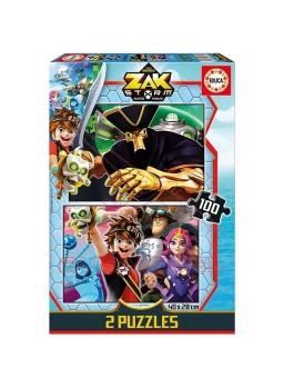 Puzzle infantil 2x100 Zak Storm.