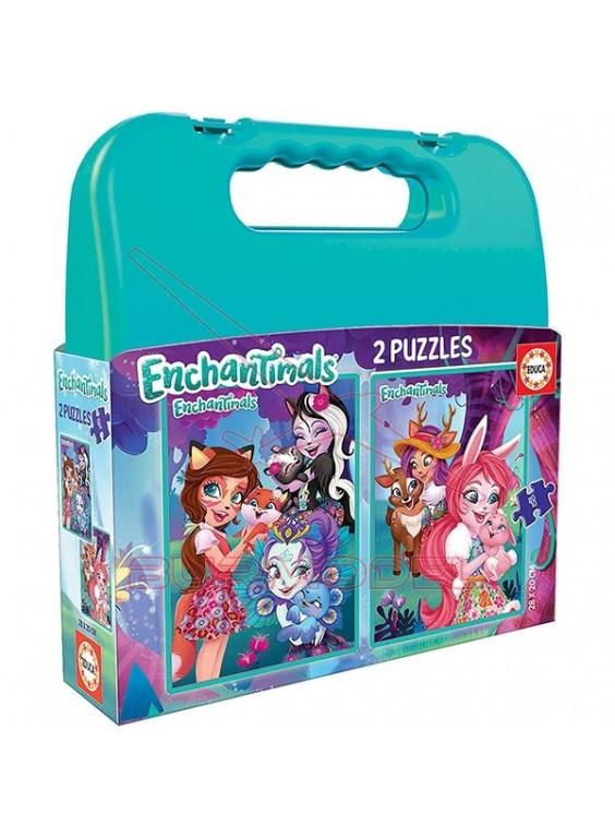 Puzzle infantil Enchantimals.