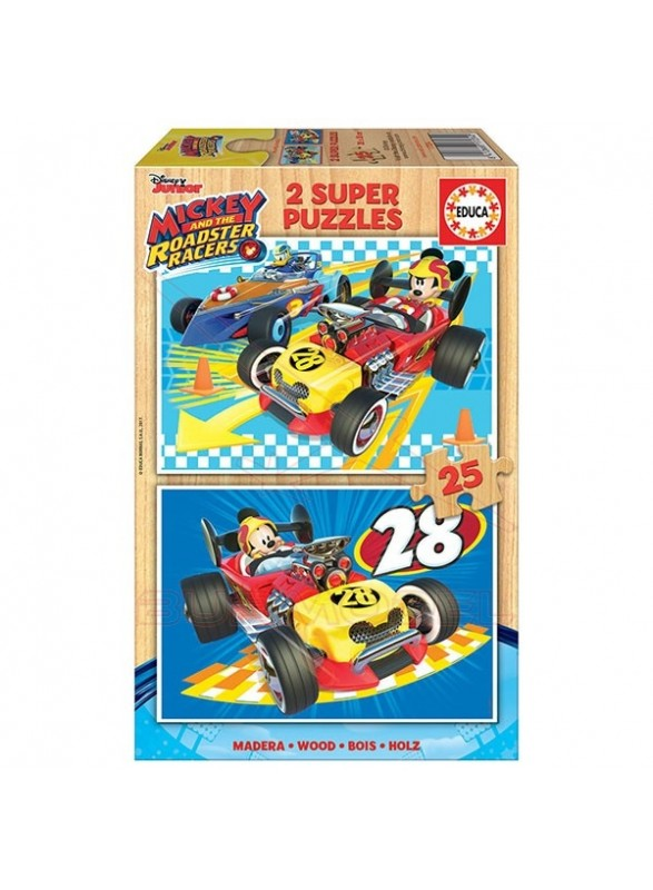 Puzzle 2x25 Mickey y los superpilotos.