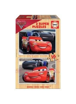 Puzzle 2x16 Cars.