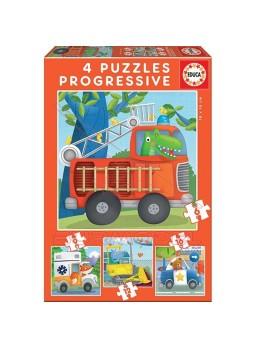 Puzzle progresivos Patrulla de rescate.