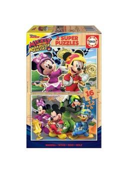 Puzzle Mickey y los superpilotos 2x16.