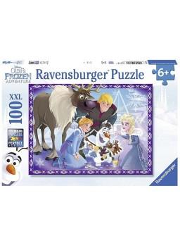Puzzle Frozen La familia es una tradicion 100 XXL.