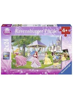 Puzzle infantil princesas Disney 2x24 piezas
