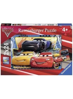 Puzzle infantil Cars 3 2x24 piezas