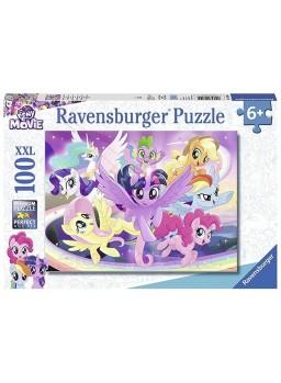 Puzzle 100 XXL Twilight Sparkle y sus amigos.