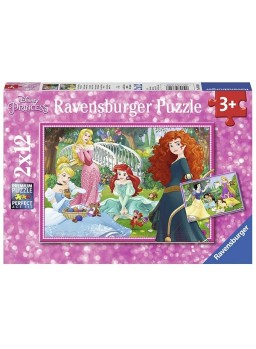 Puzzle Princesas Disney 2x12.