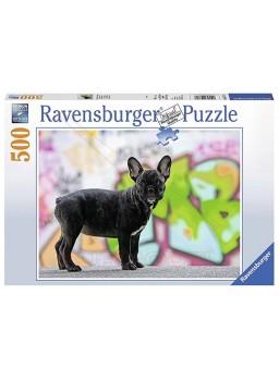 Puzzle 500 piezas Bulldog Francés
