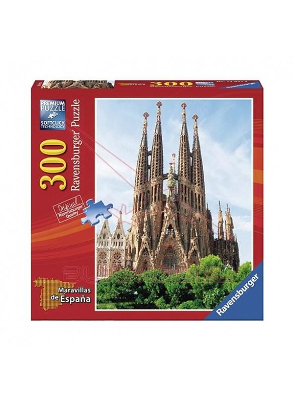 Puzzle la Sagrada Familia 300 piezas.