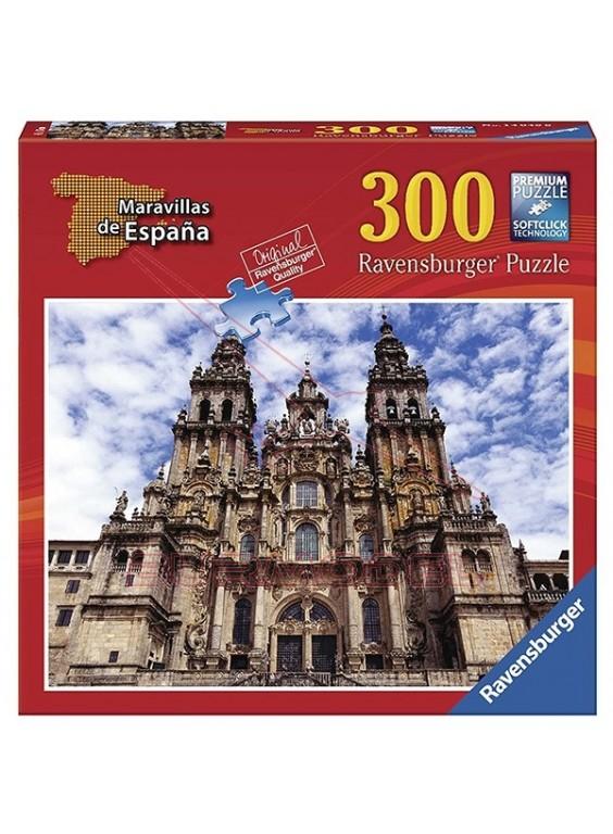 Puzzle Santiago de Compostela 300 piezas.