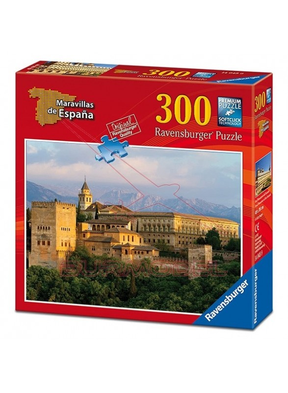 Puzzle La Alhambra 300 piezas.