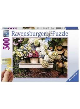 Puzzle Flores 500 piezas.