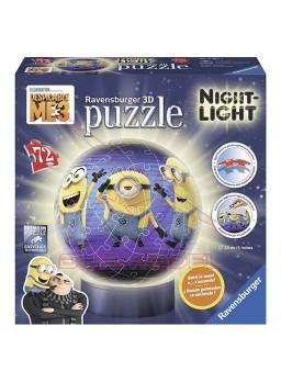 Puzzle 3D lámpara Gru mi villano favorito 3.