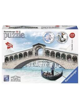 Puzzle 3D Puente de Rialto.