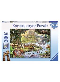 Puzzle Los animales del Arca de Noe 300 piezas XXL.