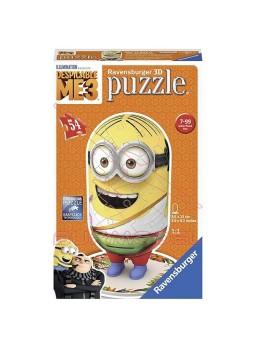 Puzzle 3D Minion turista 54 piezas