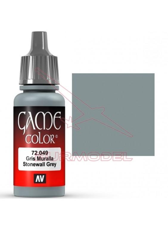Pintura Game Color gris muralla 17ml
