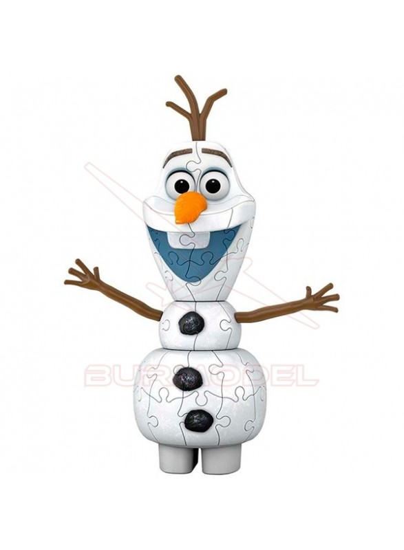 Olaf 3 dimensiones Frozen II