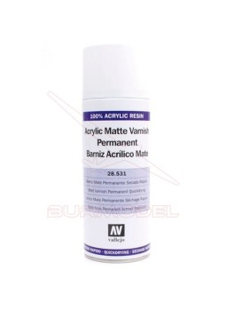 Barniz mate en spray Vallejo