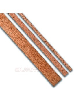Paquete chapa sapelly 0,6x4mm (25 unds) 1 metro