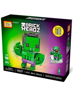 Construcción Mini Loz Hulk 163pzs