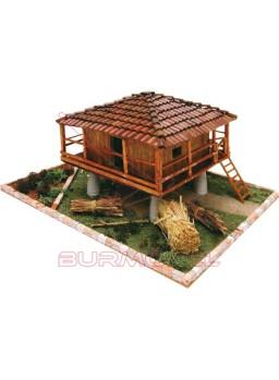 Kit de construcción Horreo Asturiano Cuit
