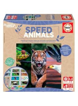 Juego Speed Animals. Juego 100% reciclable
