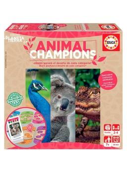 Juego Animal Champions. Juego 100% reciclable