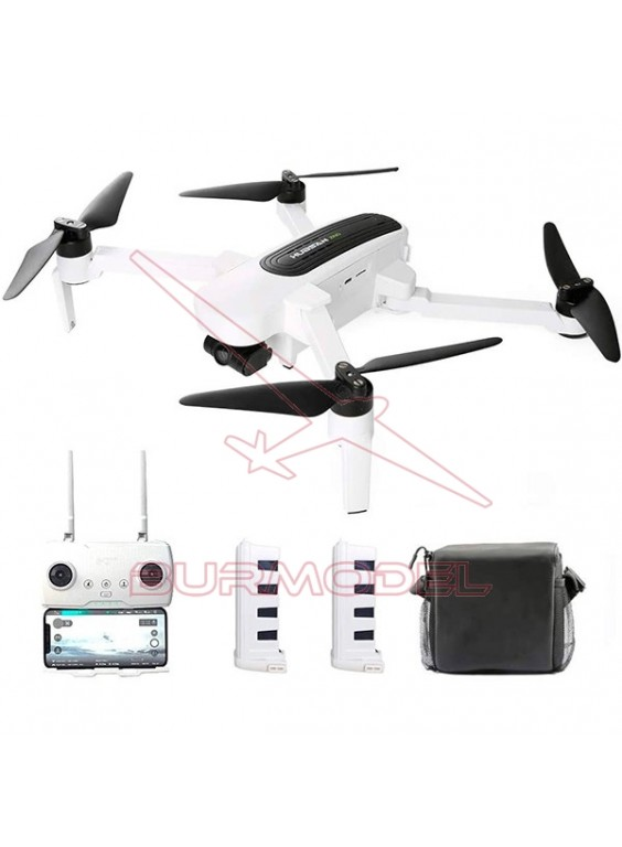 Hubsan Zino Folding Drone 4K con batería extra