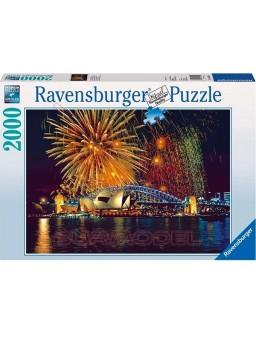 Puzzle Fuegos artificiales en Sidney 2000 pzas