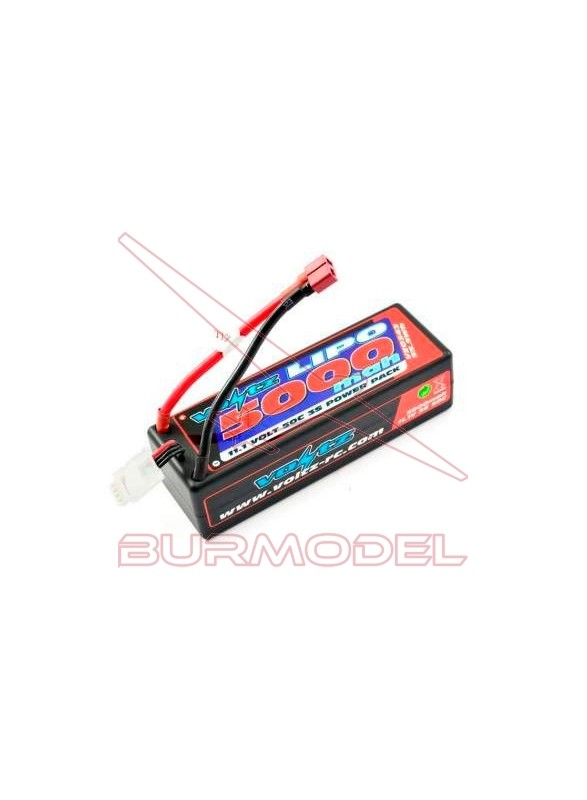 Batería lipo 11,1V 50 C 5000 mah