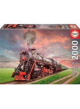 Puzzle Locomotora de vapor