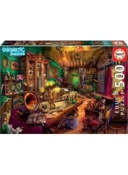 Puzzle 500 piezas Tienda de antigüedades