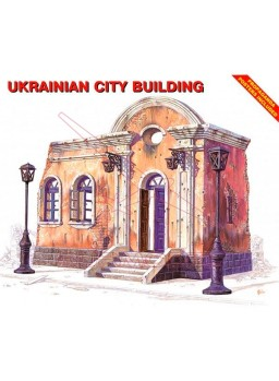 Ruinas edificio ucraniano 1/35