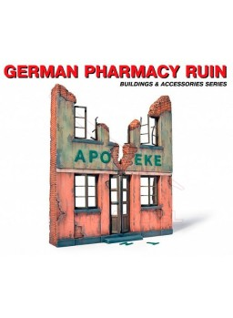 Farmacia alemana en ruinas 1/35