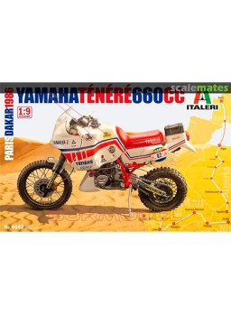 Maqueta Yamaha Ténéré 660 CC 1/9