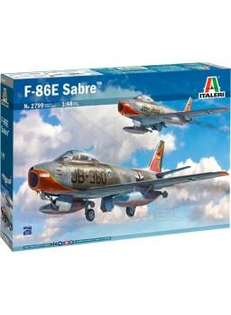 Maqueta Italeri avión F-86E Sabre 1/48