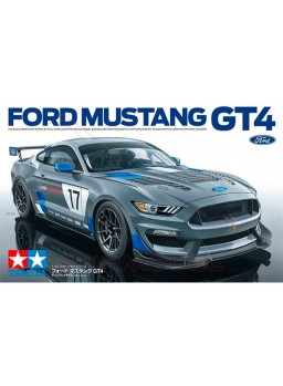 Maqueta Ford Mustang GT4 1/24