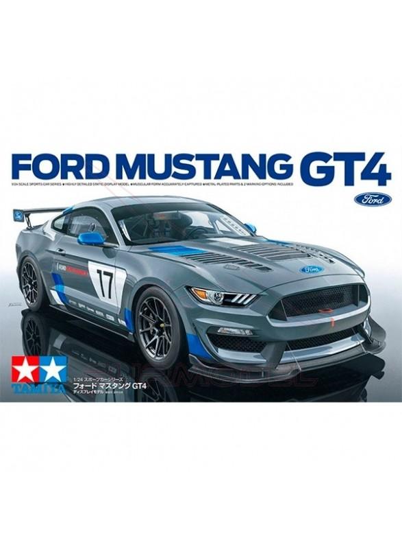 Maqueta Ford Mustang GT4 1/24
