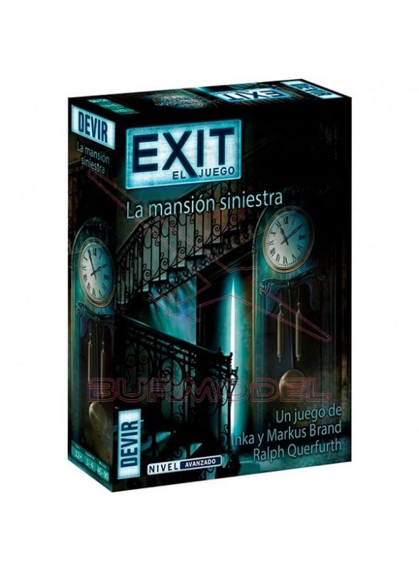 Juego de mesa Exit La mansión siniestra