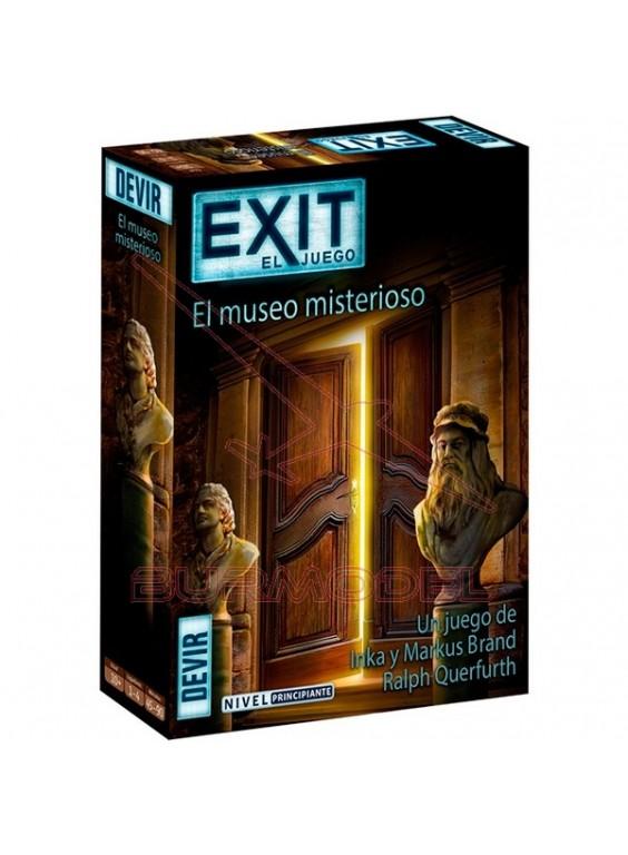 Juego de mesa Exit El museo misterioso